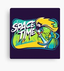 Space Time Adventure Time Canvas Print