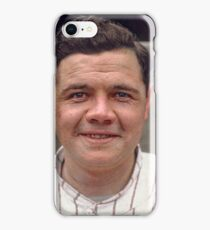 Colorization - Babe Ruth iPhone Case/Skin