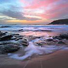 Poldhu Sunset by Andrew Hocking