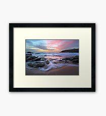 Poldhu Sunset Framed Print