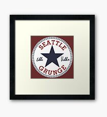 Seattle Grunge All Star Framed Print