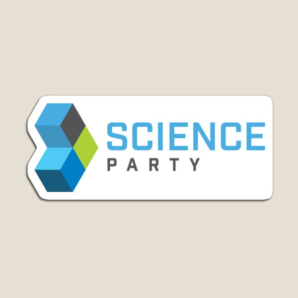 Science Party Australia (Light) Magnet