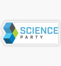 Science Party Australia (Light) Transparent Sticker