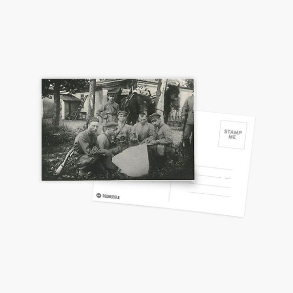 Штаб Морозовско-Донецкой дивизии Дата съемки: 1918–1922 Дивизия сформирована в 1918 году. Postcard
