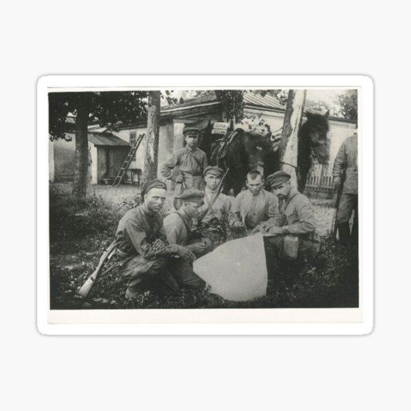 Штаб Морозовско-Донецкой дивизии Дата съемки: 1918–1922 Дивизия сформирована в 1918 году. Sticker