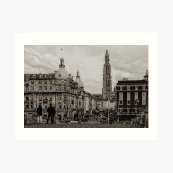 Watching the Cathedral Art Print