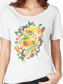 Plant Powered Women's Relaxed Fit T-Shirt