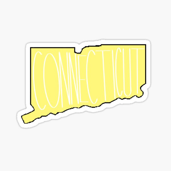Connecticut in Yellow Sticker
