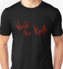 Would You Kindly - Bioshock Unisex T-Shirt
