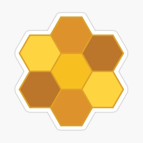 Honeycomb Sticker Sticker