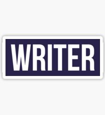 Writer Kevlar Sticker