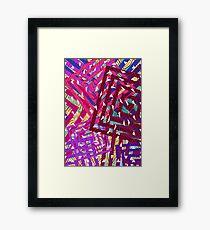 Abstract Geometrics Framed Print