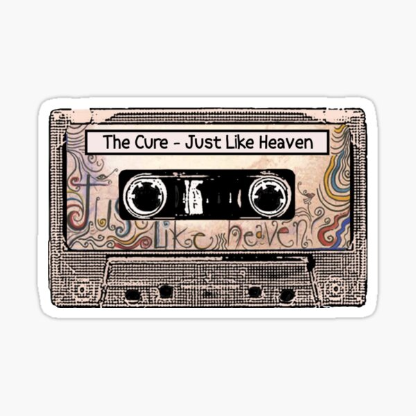 The Cure - Just Like Heaven - Robert Smith and the Band Sticker