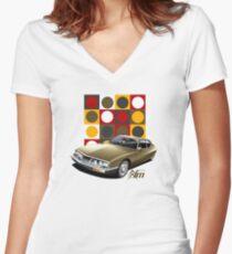 T-shirt Car Art - Citroen SM Women's Fitted V-Neck T-Shirt
