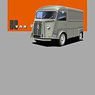 T-shirt Car Art - Citroen HY Van by RJWautographics