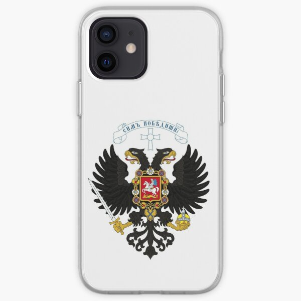 Coat of arms project for the Russian State, used by the governments of Alexander Kolchak and Anton Denikin iPhone Soft Case