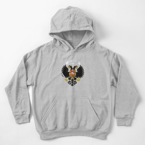 Coat of arms project for the Russian State, used by the governments of Alexander Kolchak and Anton Denikin Kids Pullover Hoodie