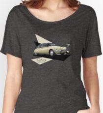 T-shirt Car Art - Citroen DS19  Women's Relaxed Fit T-Shirt