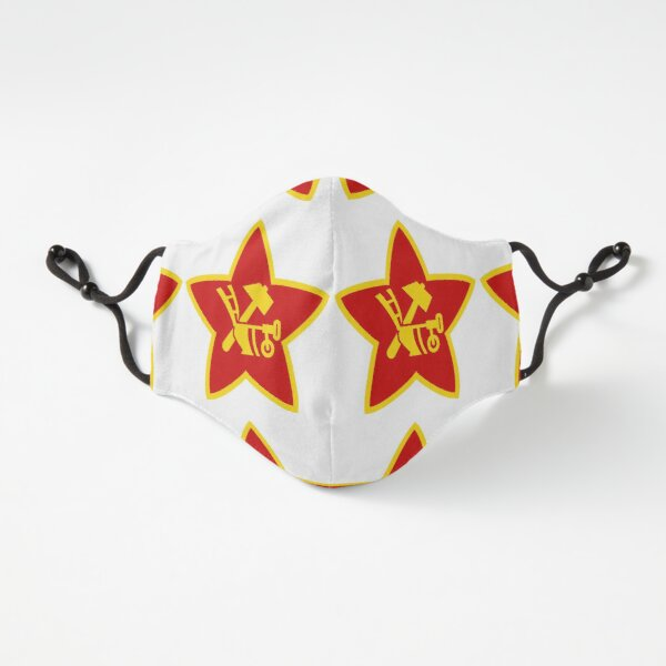Soviet Red Army insignia used on Hat Badges and Flags Fitted 3-Layer