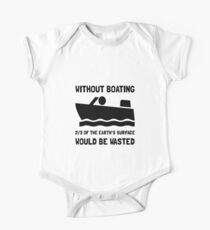 Without Boating One Piece - Short Sleeve