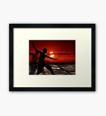 Martial arts  Framed Print