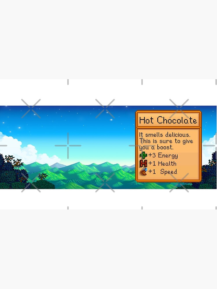 Stardew valley hot chocolate by DinoScourge