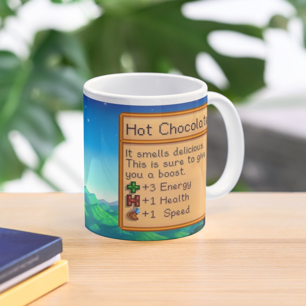 Stardew valley hot chocolate Mug