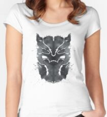 Blot Panther Women's Fitted Scoop T-Shirt