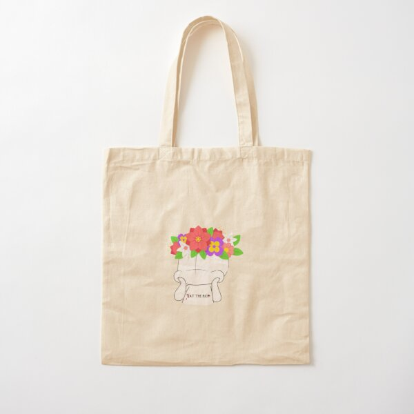 Eat the Rich Cotton Tote Bag