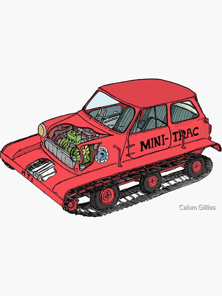 Der 'Mini Trac' mit Farbe von litzippo