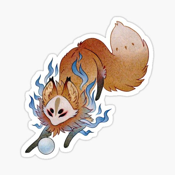 Little Wisp - TeaKitsune Fox Yokai Sticker