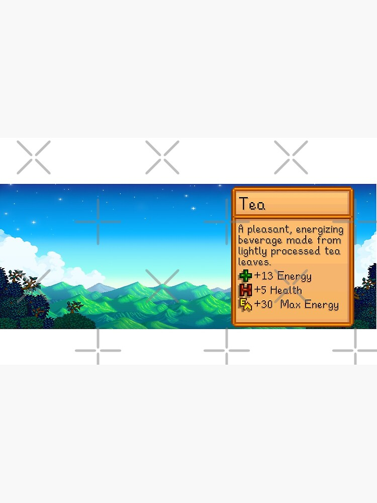 Stardew valley Tea mug by DinoScourge