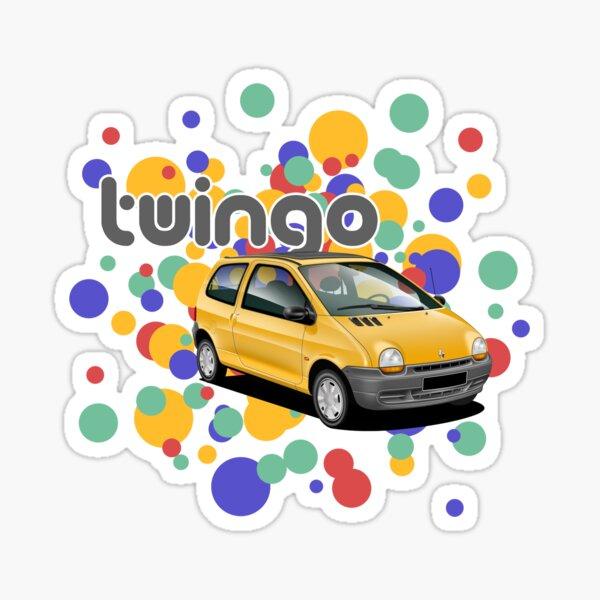 Mk1 1993 Twingo spotty design Sticker