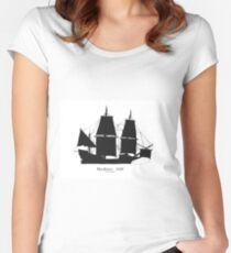 Mayflower 1620, tony fernandes Fitted Scoop T-Shirt