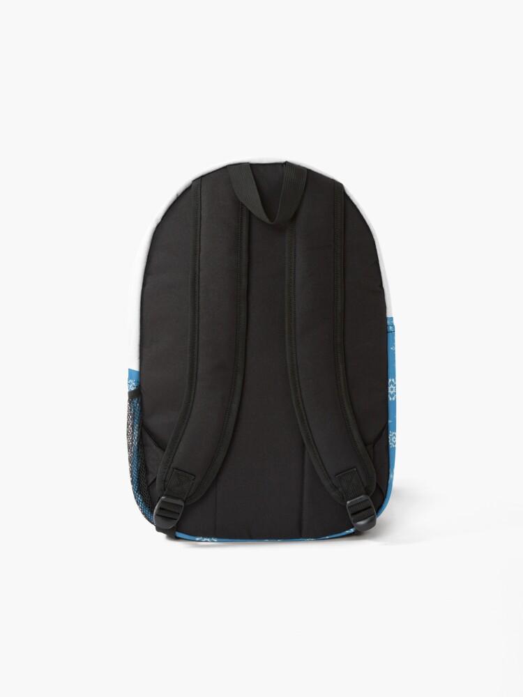 Alternate view of Snowflake pattern Backpack
