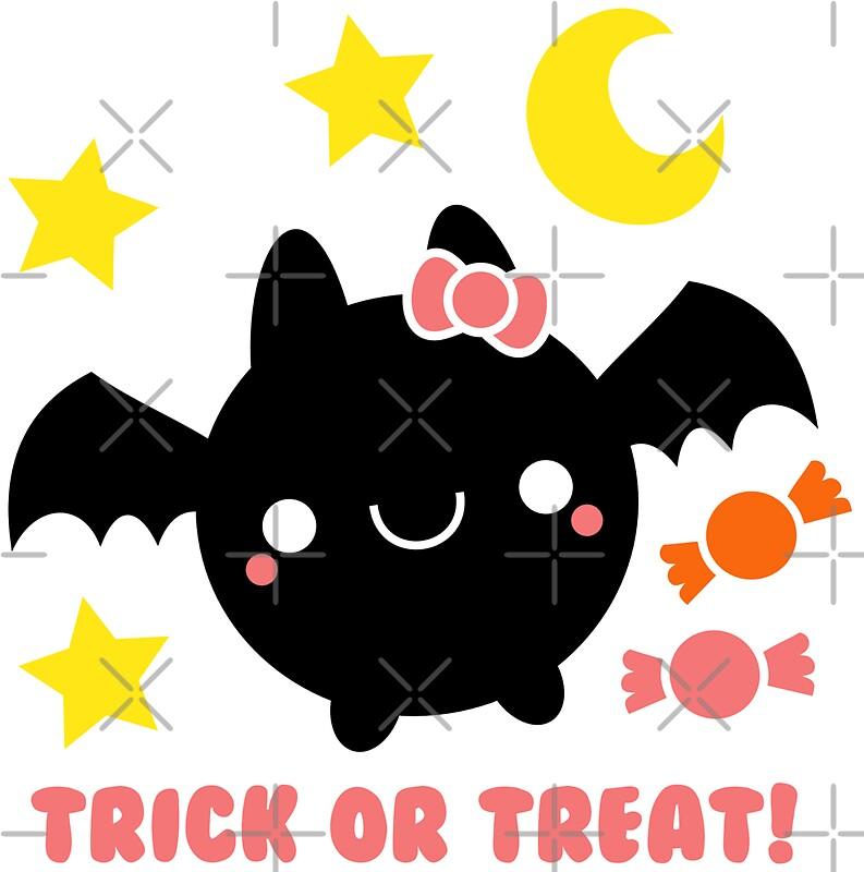 Halloween Adorable Kawaii Bat