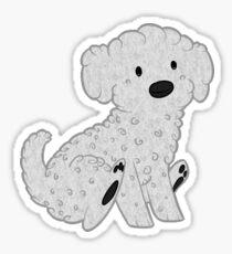 Bichon Frise Pup Sticker