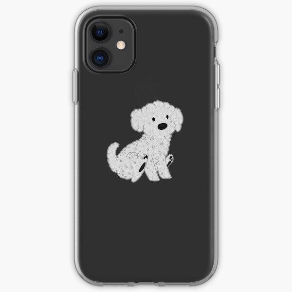 Bichon Frise Pup iPhone Soft Case