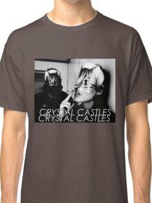 Crystal Castles Cat masks Classic T-Shirt