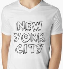 new york city Mens V-Neck T-Shirt