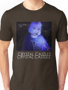 Crystal Castles Alice VHS filter coloradjust 3 Unisex T-Shirt