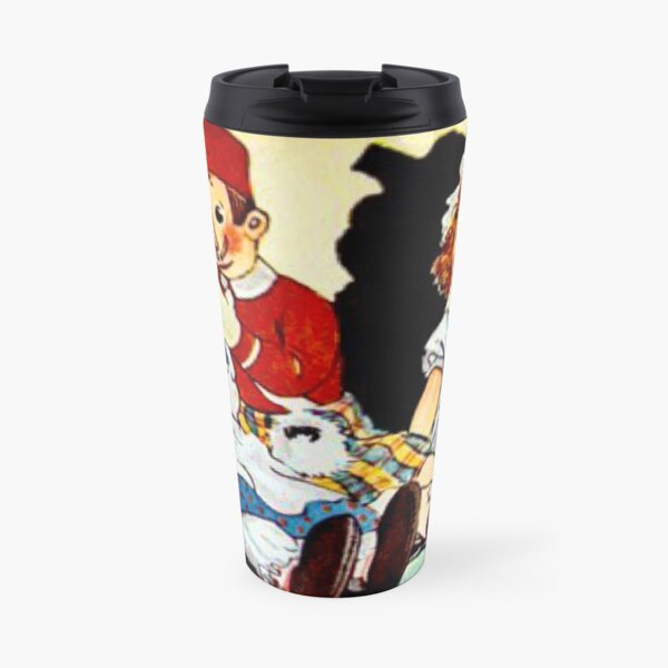"""""""Uncle Clem Comforts Raggedy Ann"""" by Johnny Gruelle 1922 Travel Mug"""