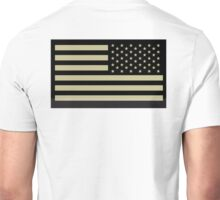 AMERICAN ARMY, Soldier, American Military, Arm Flag, US Military, IR, Infrared, USA, Flag Unisex T-Shirt