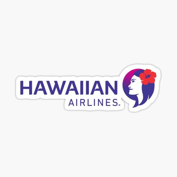 Hawaiian Airlines official logo Sticker