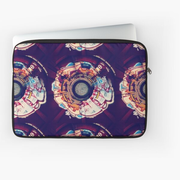 Stereographic Train Graffiti Laptop Sleeve