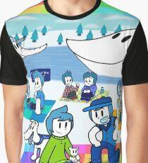 Family Picnic Graphic T-Shirt