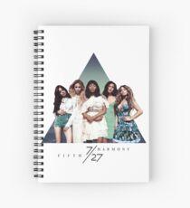 Cuaderno de espiral QUINTA ARMONÍA ~ 7/27 (Triángulo)