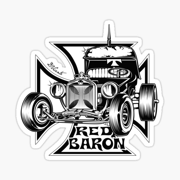 BARON ROUGE Sticker