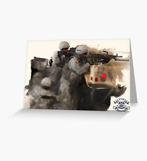3-156 Infantry BN Greeting Card