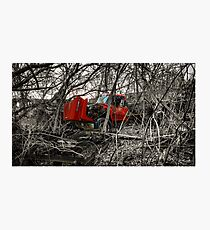 Montreal West side abadoned truck  Photographic Print